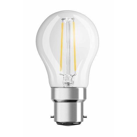 OSRAM Ampoule filament LED B22 2 W équivalent a 25 W blanc chaud