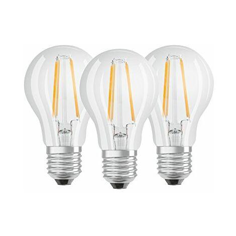 "main image of ""3 Lampadine LED Bulbo E27 da 6W Luce Neutra 4000K 806 Lumen Equivalente 60W"""