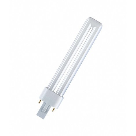 Osram Kompaktleuchtstofflampe DULUX S - G23, 840 Neutralweiß