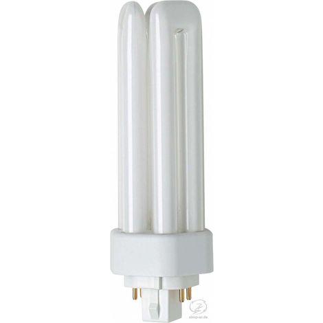 Osram Kompaktleuchtstofflampe DULUX T/E PLUS - GX24q, 840 Neutralweiß