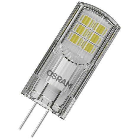 Osram LED G4 Capsule 2.4W 12V Parathom (28W Equivalent) 2700K Warm White Clear 300lm Replacement Thermal Plastic Light Bulb