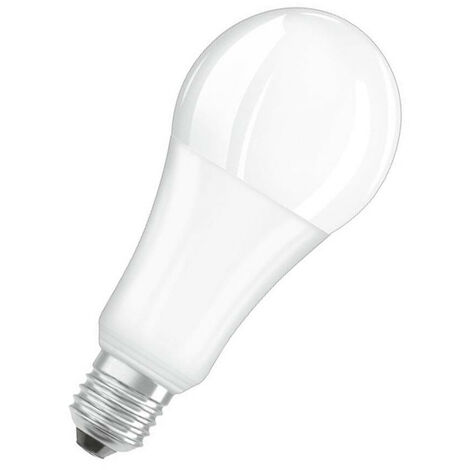 Osram LED GLS 21W ES-E27 Dimmable Parathom (150W Equivalent) Warm White Opal 2452lm ES Screw E27 Frosted Bright Thermal Plastic Light Bulb