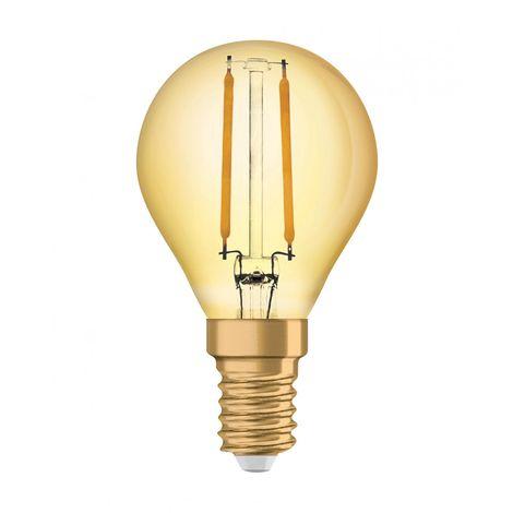 OSRAM LED STAR CLASSIC P 25 FS Warmweiß Filament Klar B22d Tropfen
