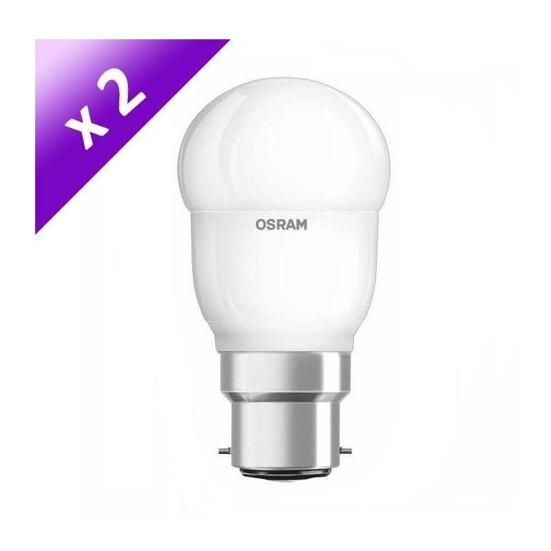 Culot B22-7 W Equivalent... Lot de 3 Ampoules LED Filament Standard OSRAM