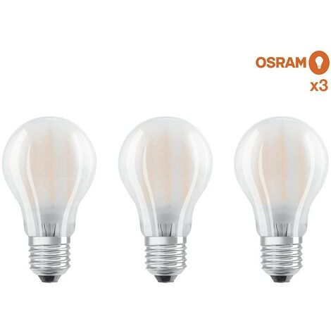 Osram Pack 3 Unidades Led Base Esferica 40 No Regulable 4W/827 E14