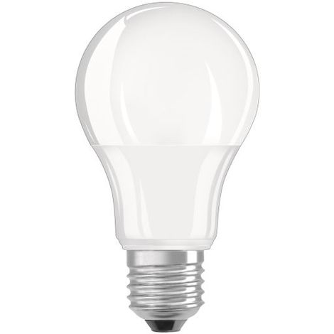 Osram Pack 3 Unidades Led Base Estandar Mate 75 No Regulable 10,5W/840 E27