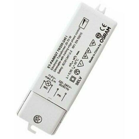 OSRAM TRANSFORMADOR ELECTRÓNICO PARA LÁMPARAS HALÓGENAS DE 220/12V 35/105W