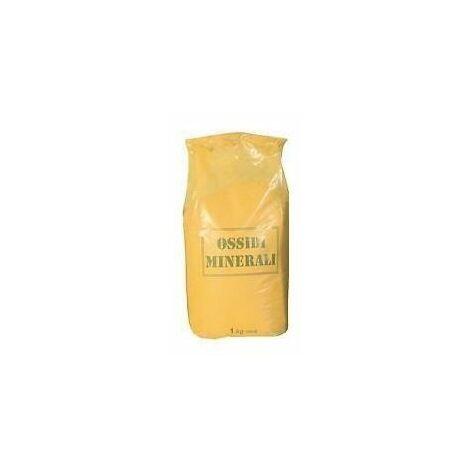 Ossido minerale colore giallo colorante pittura malta calce 1 kg