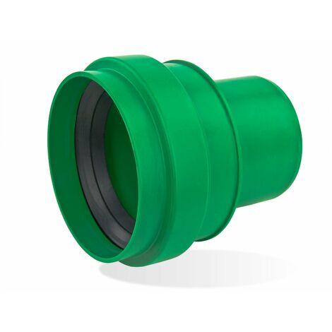 KG 2000 KGUG Anschluß DN125 Übergang Gußrohr-Spitzende grün Abwasserrohr