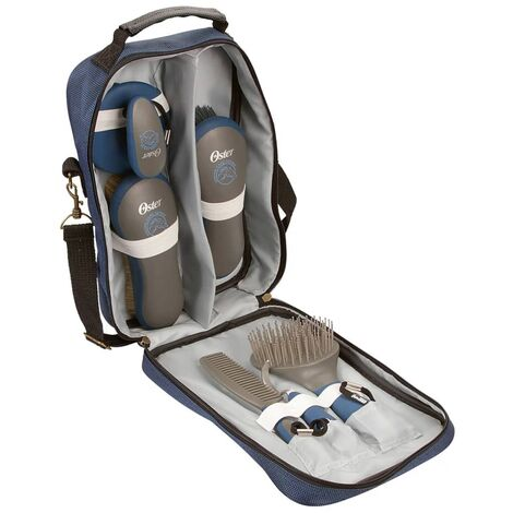Oster Seven Piece Grooming Kit Blue 32748
