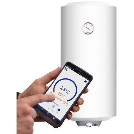 OSV.ECO - 50 Slim Wandspeicher für Dusche 50 Liter - Wandspeicher Kospel