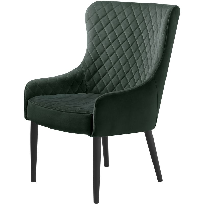 Otis Sessel grün Velour 47-40530013 - PKLINE