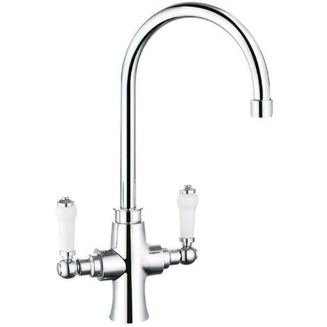 Otra Chrome Kitchen Sink Mixer