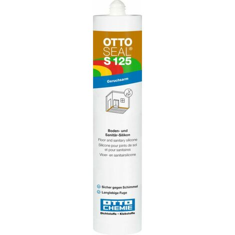 OTTOSEAL S 125 Silicone alkoxy construction 400ML C376 Anthracite