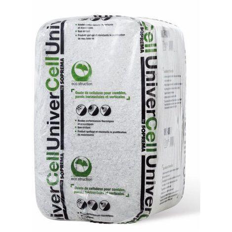 Ouate de cellulose UNIVERCELL - sac de 12,5kg - sac(s) de 12.5kg