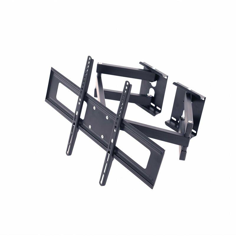 "Oulofa 32""-65"" Swivel Corner Tilt TV Bracket Mount - 40kg Load Capacity - VESA 600x400mm"