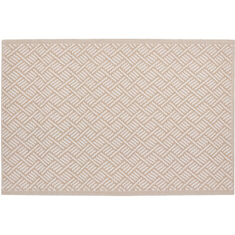 Outdoor Area Rug 120 x 180 cm Beige AJMER