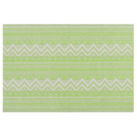 Outdoor Area Rug 120 x 180 cm Green NAGPUR