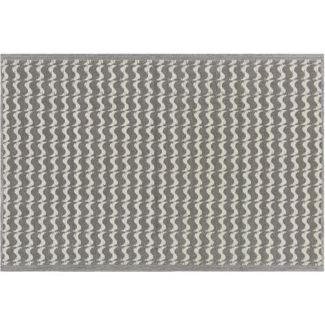Outdoor Area Rug 120 x 180 cm Grey TUMKUR