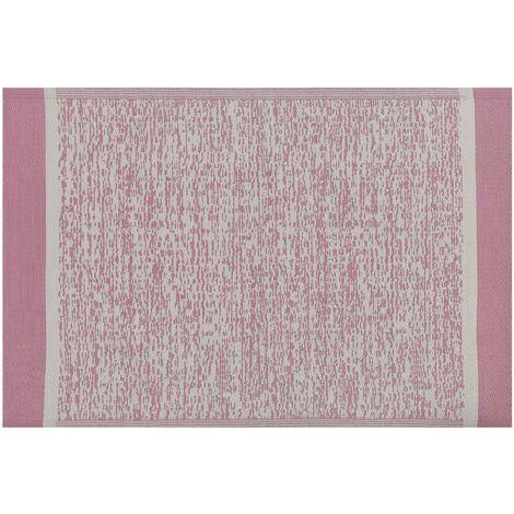 Outdoor Area Rug 120 x 180 cm Pink BALLARI