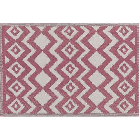 Outdoor Area Rug 120 x 180 cm Pink DEWAS