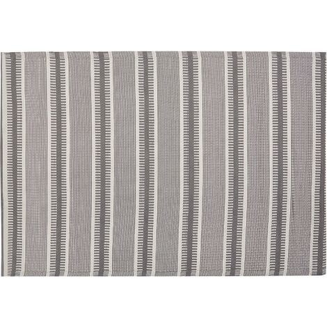 Outdoor Area Rug 160 x 230 cm Grey MANSA