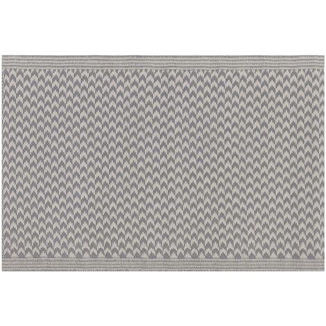 Outdoor Area Rug 60 x 90 cm Grey MANGO