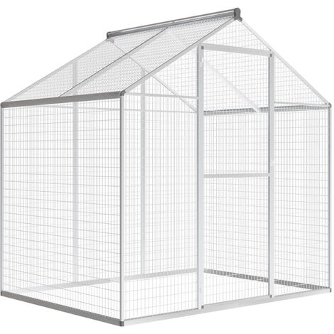 Outdoor Aviary Aluminium 178x122x194 cm