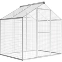 Outdoor Aviary Aluminium 178x122x194 cm