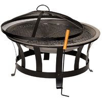 Outdoor BBQ Fire Pit