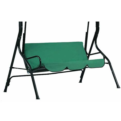 Outdoor Canopy Hammock Swing Seat Cover Waterproof Summer Swing Chair Cover 3 Seat A Just the seat Not include the stand &