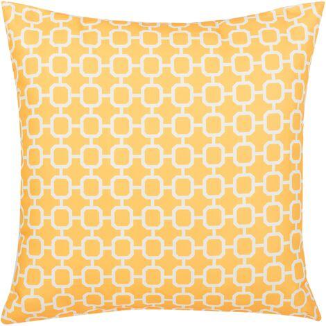 Outdoor Cushion 40 x 40 cm Yellow