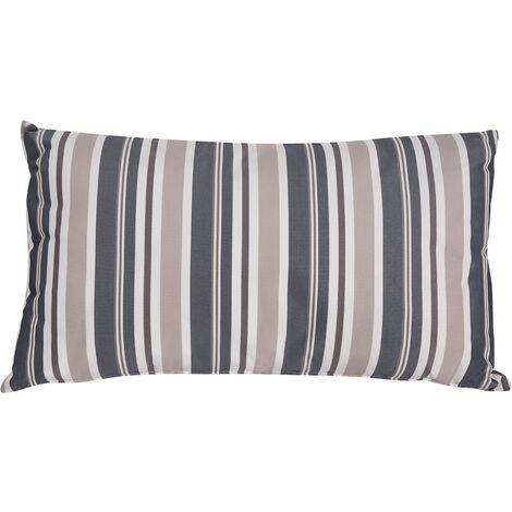 Outdoor Cushion 40 x 70 cm Blue and Beige