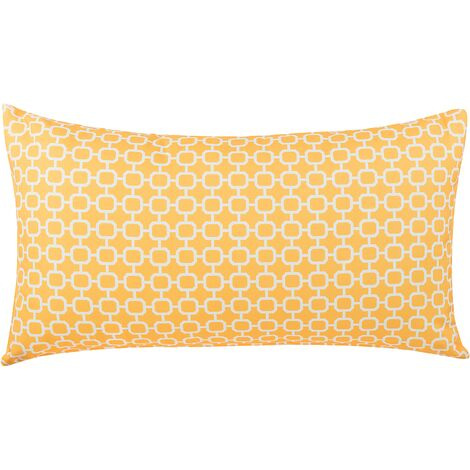 Outdoor Cushion 40 x 70 cm Yellow
