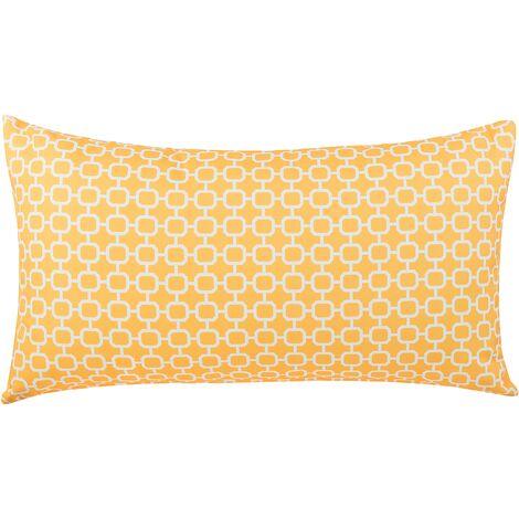 Outdoor Cushion 40 x 70 cm Yellow