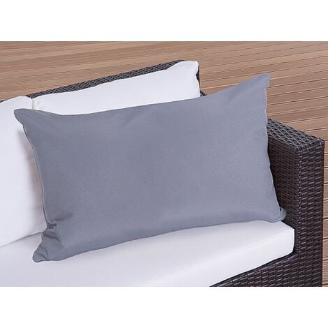 Outdoor Cushion 50 x 70 cm Grey