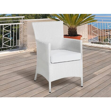 Outdoor Cushion Cover Set Off-White ITALY