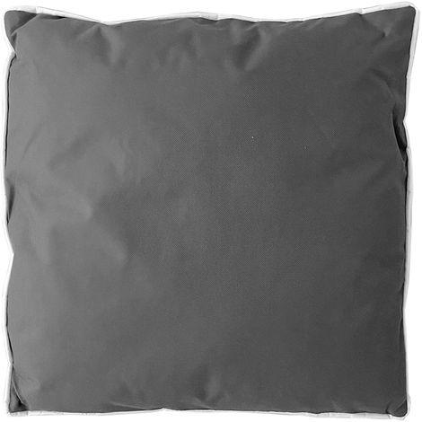Outdoor Deko Kissen 45x45cm Polyester grau-M800220-grau