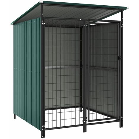 Outdoor Dog Kennel 133x133x163 cm