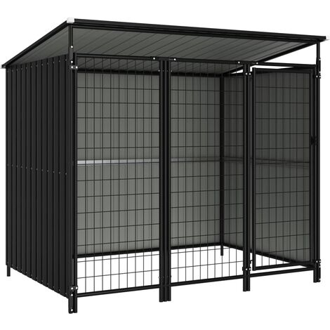 Outdoor Dog Kennel 193x133x163 cm