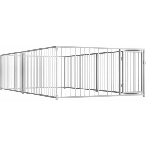 Outdoor Dog Kennel 200x400x100 cm