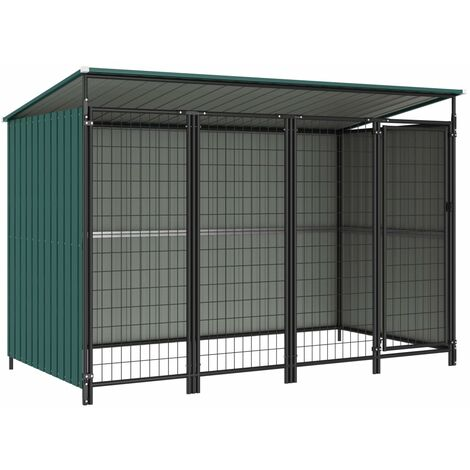 Outdoor Dog Kennel 253x133x164 cm