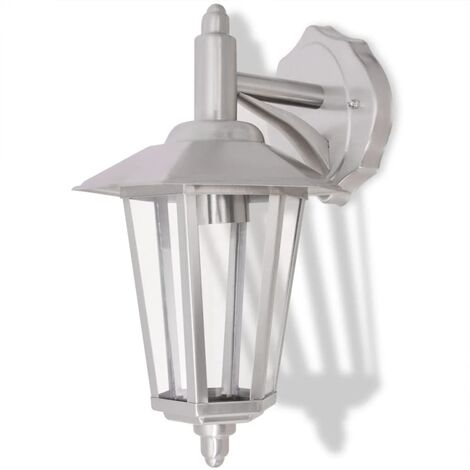 Outdoor Downlight Wall Lantern Stainless Steel