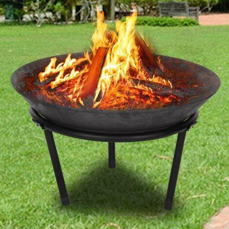 Outdoor fireplace cast iron fire bowl Brasero