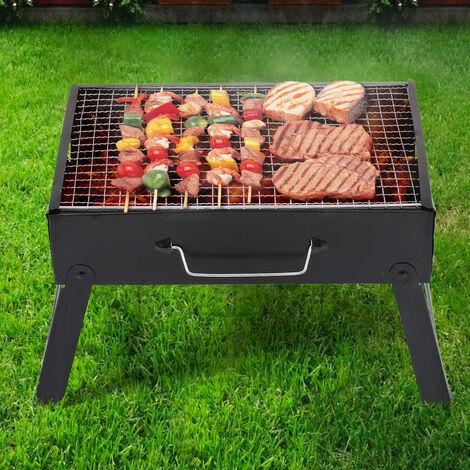 Outdoor Folding Fire Pit Garden BBQ Backyard Patio Fire Pit Stove Brazier Heater