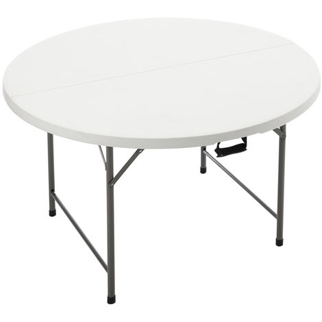 Outdoor Folding Portable Camping Round Table BBQ Party Desk