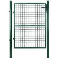 Outdoor garden door, garden gate, courtyard fence door, with lock, 125x 106cm, item number: GGD175G