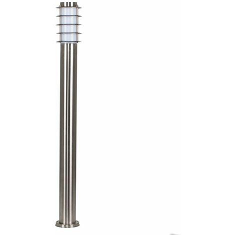 Outdoor Garden Lighting IP44 Stainless Steel Bollard 1000mm