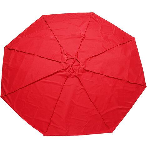 Outdoor Garden Parasol Canopy Cover Yard Patio Umbrella Fabric