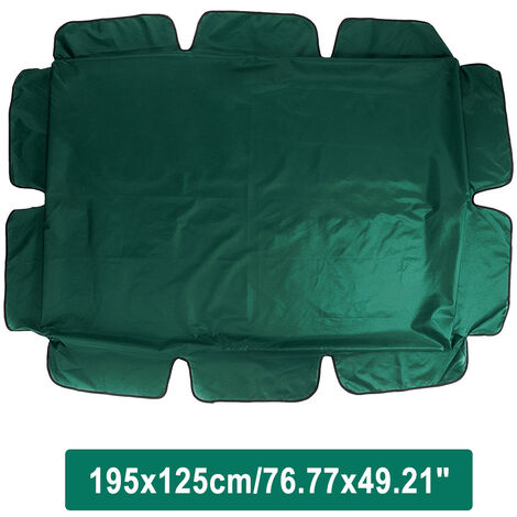 """main image of """"Outdoor Garden Patio Swing Sunshade Cover Canopy Seat Top Cover darkgreen"""""""
